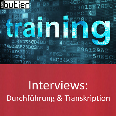 Produktbild Interviews transkribieren